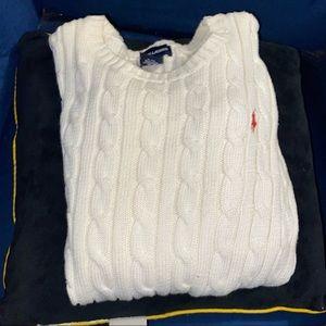 Ralph Lauren Sweater Kids Girls size 12/14 Large